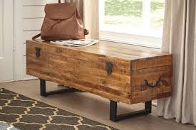 McLaurin Wood Storage Bench