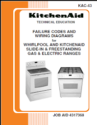 step right up appliance service manuals whirlpool and kitchenaid failure codes and wiring diagrams