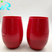 acrylic stemless wine glasses. Interesting Glasses Acrylic Stemless Wine Tumbler Disposable Glasses Manufacturers And  Suppliers  China Factory HONGRUN With I
