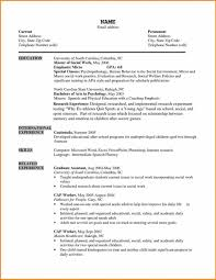 Sample Social Work Resume Free Resume Templates Work Sample Social Worker Template Job Social 42