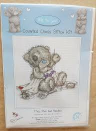 Anchor Me To You Bears Cross Stitch Kit Tatty Teddy Pins Needles Tt102