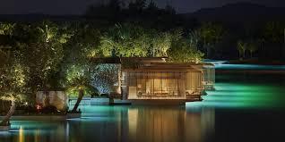Resort Lighting Design The Sanya Edition Luxury Boutique Hotel In Sanya China