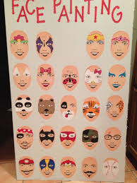 face painting sign ideas beautiful