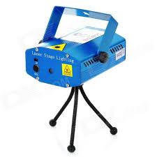 mini 50mw green 100mw red laser stage lighting projector w tripod blue ac 100 240v