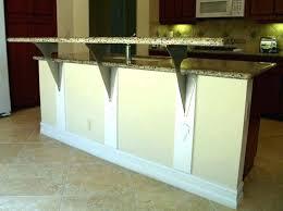support for granite countertop overhangs brackets for granite countertop overhang awesome