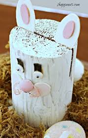 Down The Bunny Trail With A Cute Easy Craft made out of Landscape Edging.  Now if you have been reading this blog you know I lo… | Easy crafts,  Crafts, Easter crafts