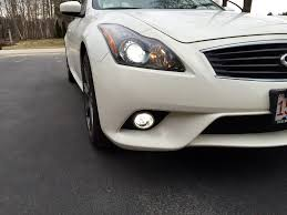 2008 G37 Coupe Fog Lights Replacing Stock Fog Lights With Led Myg37