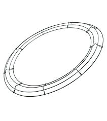 Panacea products box wire wreath frame 24 in joann rh joann wire sculpture web frame