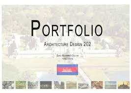 Portfolio Architecture Design 202