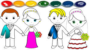 Coloring Pages Coloring Pages Barbie Weddingntable Kids For