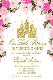 Princess Birthday Party Invitation Birthday Party Invitations