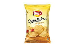 lay s oven baked original potato crisps 18 chips