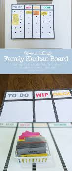 Family Kanban Board Becoming An Agile Household Chore