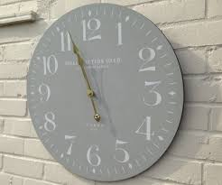 decorative large contemporary wall clocks  all contemporary design