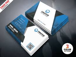 Business Card Design Psd Templates By Psd Freebies On Dribbble
