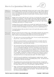 how to write a quote in an essay howtowriteanything edu essay