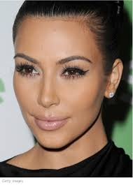 kim kardashian cat eye