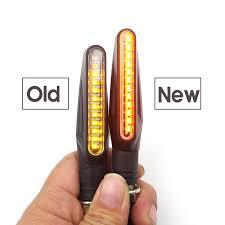 Mới 2 cái 12 ĐÈN LED Xe Máy biến tín hiệu Cho carenagem DUCATI 1199 YAMAHA  xt660x Ktm 1190 phiêu lưu Suzuki Gladius|Covers & Ornamental Mouldings