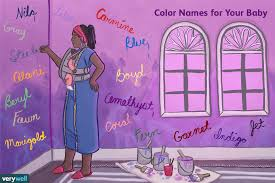 100 Color Baby Names Meanings Origins