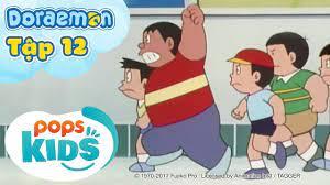 Tuyển Tập Hoạt Hình Doraemon Tiếng Việt Tập 12 - Tác Giả Bất Đắc Dĩ , Máy  Tạo Không Gian 3 Chiều - Hôm