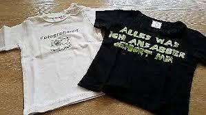 Coole Sprüche T Shirts Gr 80 86 Auch Von Schnitzler In Bayern