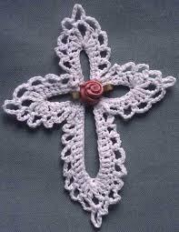 Crochet Cross Pattern Interesting Lace Cross Free Pattern Maggie's Crochet