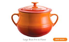 le creuset soup pot. Le Creuset Bean Pot In Flame Soup A
