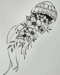 фото тату юлия Shinshin шингареева тату цветы эскиз Mykinglist