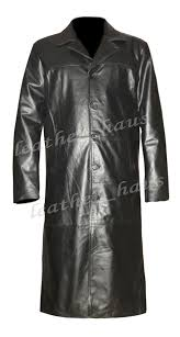 gothic van helsing genuine cowhide leather goth matrix