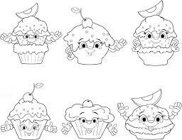 Süße malvorlagen kostenlos zum ausdrucken ausmalbilder süße. Einhorn Cupcakes Ausmalbilder Coloring And Drawing