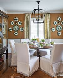 hang plates on a wall to fill blank wall space