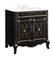 25 inch bathroom vanity. 32.5 Inch Bathroom Vanity Floral Hand Painted Black Gold (32.5\ 25 A