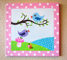 Easy Things To Paint Canvas Painting Ideas For Kids Paintings Pinterest Canvas