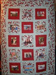 183 best Memory quilts images on Pinterest | Photo blanket ... & Photo Memory Quilt Adamdwight.com