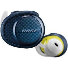 bose headphones blue. bose soundsport wireless headphones - midnight blue / citron