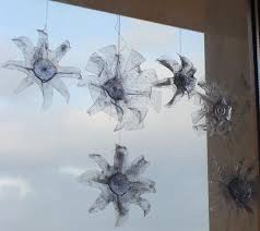 Christmas Decorations Made Out Of Plastic Bottles Fab Mums From plastic bottles to snowflake ornaments 13