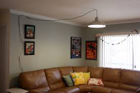chic and creative hanging lamp plug into wall lamps best
