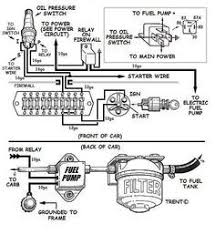 basic ford hot rod wiring diagram wiring tips hot rod tech basic wiring how to wire and install an electric fuel pump in your hot rod or custom car or truck