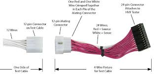 4 wire testing resistance measurement to in 1mΩ article the uut attached to a cableeye® test system appears in the image below you can see here that 48 test points are required to test this 12 conductor cable