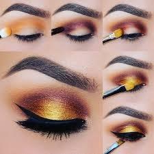 step by step makeup fashion fox