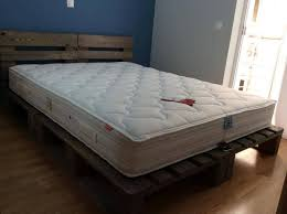 king size pallet bed rustic king size pallet bed