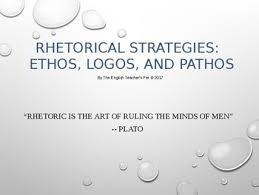 rhetorical strategy using ethos logos and pathos in writing rhetorical strategy using ethos logos and pathos in writing essays powerpoint