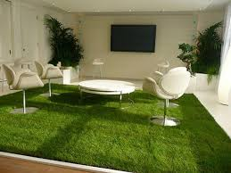 Beautiful Indoor Grass Carpet Contemporary Decoration Design Ideas