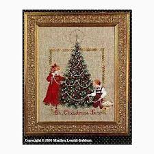 Christmas Tree Cross Stitch Chart Oh Christmas Tree