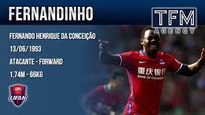 Fernandinho Conceição :: Fernando Henrique da Conceição :: Guangzhou  Evergrande