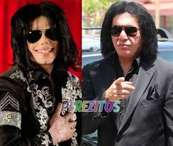 gene simmons son tongue. gene simmons still claims that michael jackson molestion are true son tongue