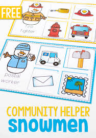Winter Community Helpers Activities For Preschool Life Over Cs