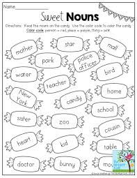Sweet Nouns- Identify if the nouns are a person, place or thing ...