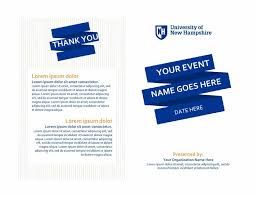 How To Create An Event Program Booklet 40 Free Event Program Templates Designs Template Archive