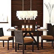 image of modern rectangular chandelier dining room rustic chandeliers